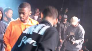 PNB ROCK & Kur Swash Beef on Stage at Philly Concert