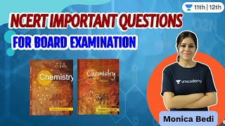 Important Questions of NCERT for Board Examinations | Unacademy Class 11 & 12 | Monica Bedi - MONICA