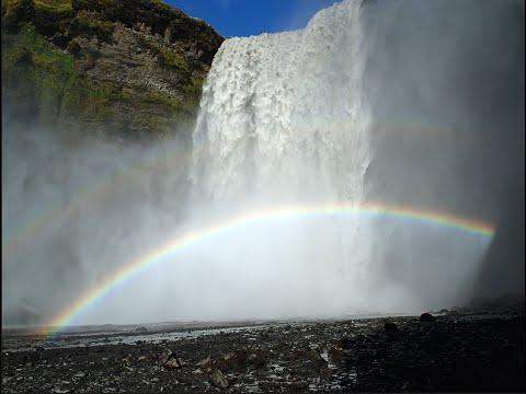 أجمل شلال في أيسلندا – سكوغافوس ،، سبحان الخالق .