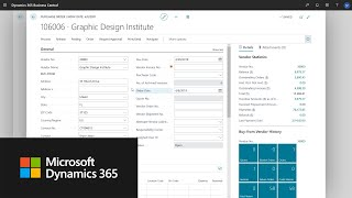 How to create a purchase order in Dynamics 365 Business Central