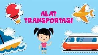 Belajar Mengenal Nama-nama Alat Transportasi | Bunbun Learning Transportation