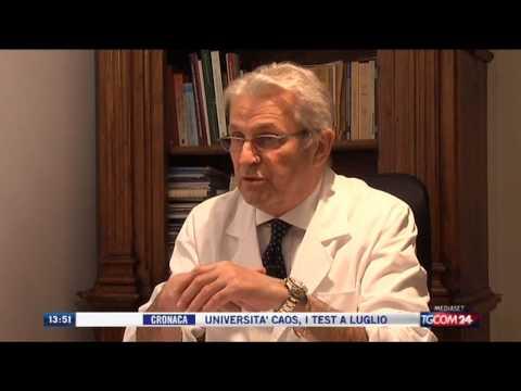 Osteocondrosi della palpazione rachide lombosacrale