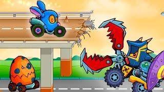 Машина ест машину 3 пасхальная версия - Рэббистер видео игра