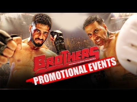 Download Brothers Movie (2015)   Pre Release Promotion   Akshay Kumar, Sidharth Malhotra, Jacqueline HD Mp4 3GP Video and MP3