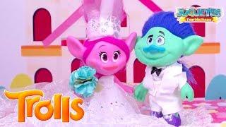 TROLLS: La Boda de POPPY y RAMON de la Película de Trolls!