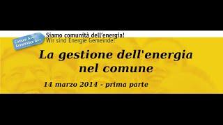 preview picture of video 'Interreg COME: La gestione dell'energia nel Comune. Pubblica illuminazione - 1/2'