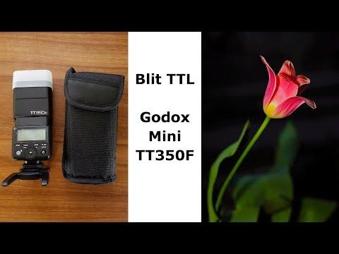 Prezentare Blit TTL si HSS Godox Mini TT350F pe Fujifilm X-T20