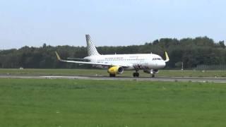 "Vueling A320 [EC-MEQ] ""Pepsi Max"" Takeoff @ Hamburg Airport | 4K"