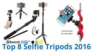 8 Best Selfie Tripods 2016