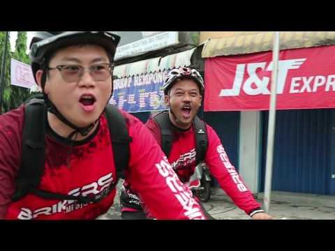 Gowes BRICCo Family Fun Bike City Tour HUT BRI Ke 121 Kanwil Medan