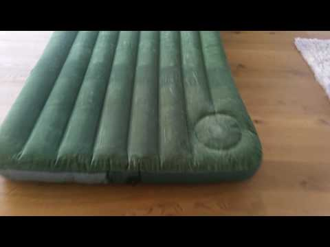 "Vorstellung: Intex Luftbett Downy ""Green"" Full mit Fußpumpe"