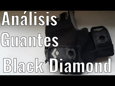 Análisis Guantes para Escalada CRAG HALF-FINGER Black Diamond