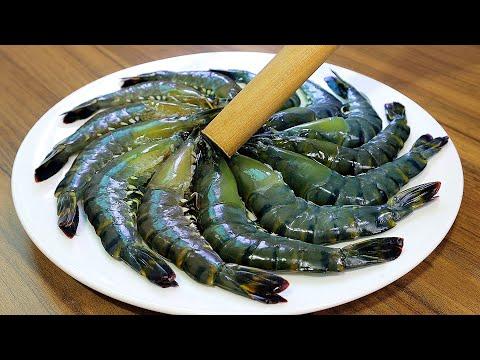 正確處理蝦的方式