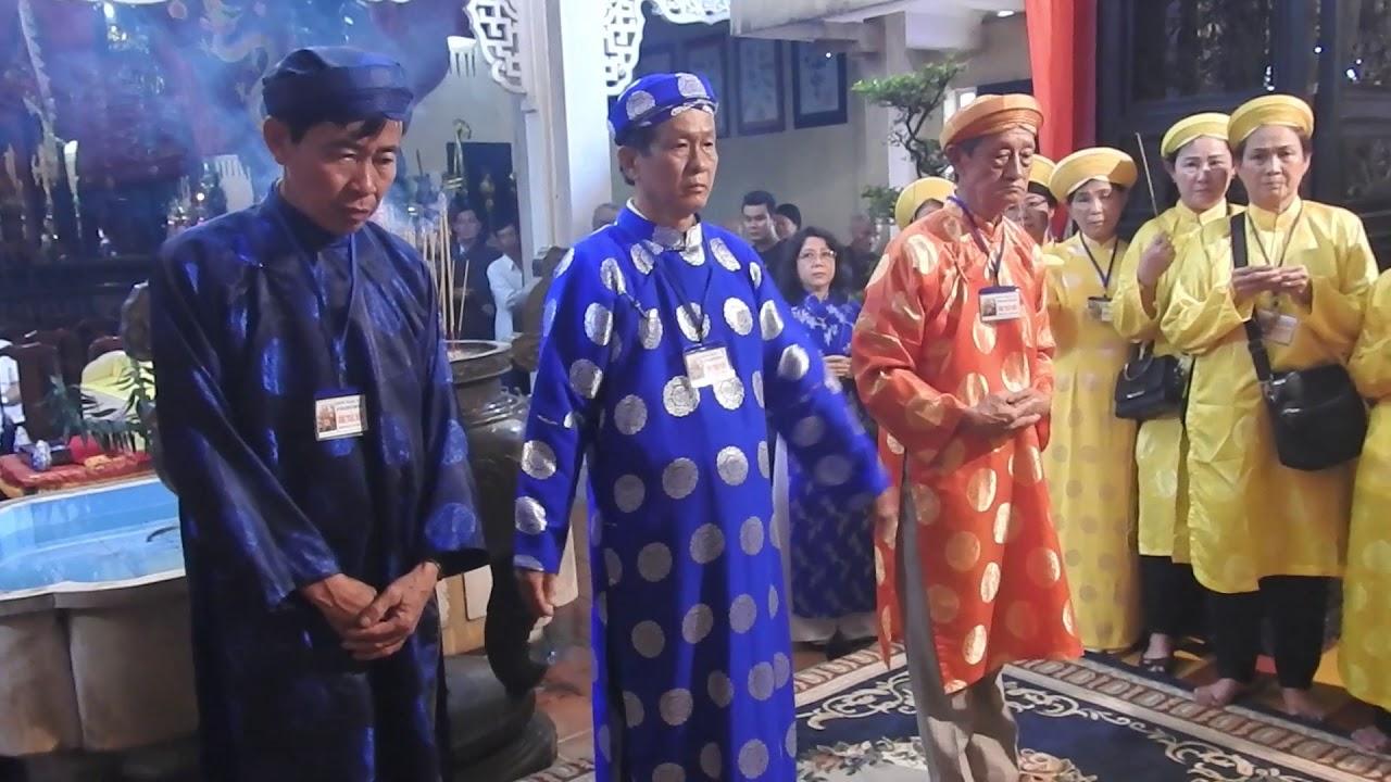 Đoàn Công Thần Miếu dự Lễ giỗ Thượng công Tả quân Lê Văn Duyệt