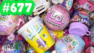 Random Blind Bag Box #677 - LOL Surprise Glam Glitter, Baby Secrets, Build A Bear, Surprizamals