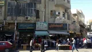 preview picture of video 'Amman, Jordan, 20th-October-2013: Amman City Centre'