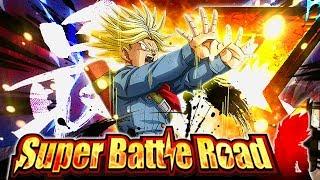 EZA PHY RAGE TRUNKS VS. HYBRID SAIYAN CATEGORY SUPER BATTLE ROAD! (DBZ: Dokkan Battle)