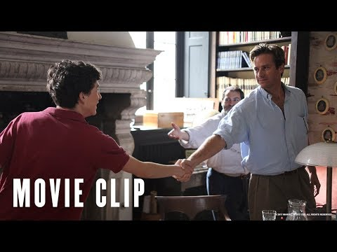 Call Me By Your Name Clip 'Our Home Is Your Home'