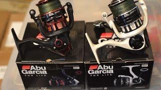 Abu Garcia Revo S 30 & Revo SX 30 spinning reels side by side