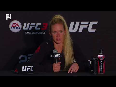 UFC 225: Holly Holm Post-Fight Press Conference on Who's Next, Weigh-ins