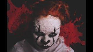 "Грим на хэллоуин / Макияж клоуна из фильма ""Оно"""