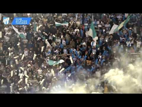 """""""Espectacular recibimiento  -  Atlético Tucumán vs River Plate"""" Barra: La Inimitable • Club: Atlético Tucumán"""