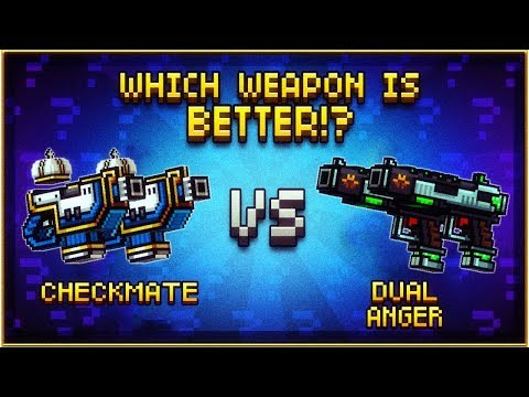 Checkmate VS Dual Anger - Pixel Gun 3D