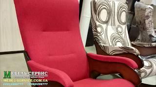 """Кресло качалка Уют, 106х64 cм, МДФ от компании Мебельное ателье """"Константа"""" - видео"""