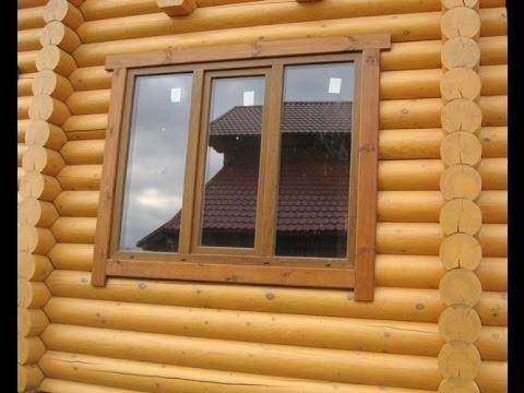 Преимущество деревянных окон в деревянном доме