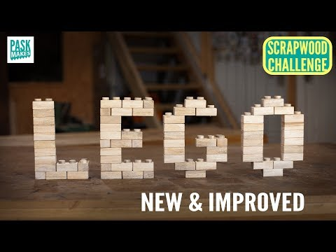 Make Your Own Wooden LEGO Blocks
