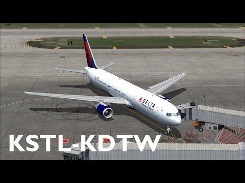 DAILY] Flight Simulator LIVE! | KMCO-KATL | Level-D 767-300F
