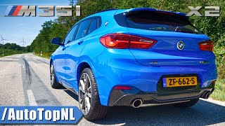 2020 BMW X2 M35i Exhaust SOUND Revs & Onboard by AutoTopNL