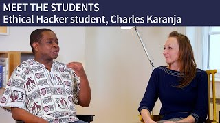 MEET THE STUDENTS | Ethical Hacker student, Charles
