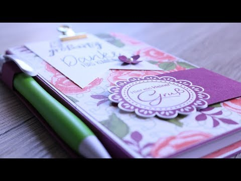 NOTIZBLOCK aus STAMPIN´UP! Produkten | Tutorial