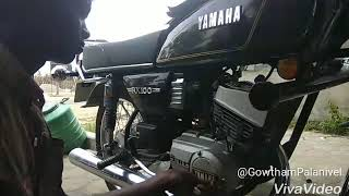 Yamaha RX100 2T Oil Pump And And Kicker Replacement