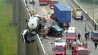 ПРОСТО НЕ ПОВЕЗЛО | Car Crash Compilation #1