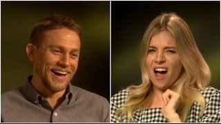 """Charlie Hunnam and Sienna Miller play HOW CIVILISED ARE YOU??? - """"The Lost City of Z"""" EXCLUSIVE"""