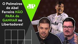 Palmeiras é exaltado após vitória na altitude