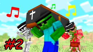Minecraft: Coffin Dance Meme Compilation #2