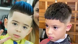 BEST BARBERS IN THE WORLD 2019 || CUTE HAIRSTYLES FOR KIDS || BOYS HAIRCUTS 2019 EP19. HD