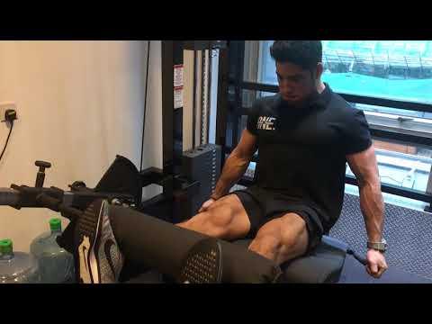 Comme gonfler les muscles de devant de la jambe