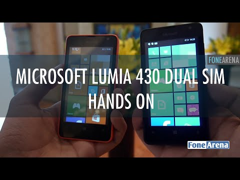 Microsoft Lumia 430 Dual SIM Hands on
