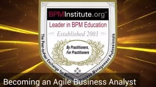 Becoming an Agile Business Analyst