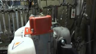 Мастер Глушителей: Изготовление глушителя для лодочного мотора Carver MHT-3.8S
