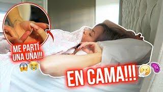 ME SIENTO MUY MAL 🤒🤧  + ACCIDENTE CON UNA UÑA!!!😱 | 23 mar 2020