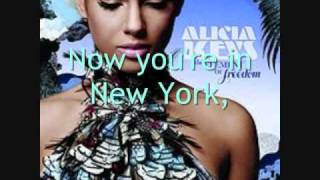 Empire State of Mind {Part II} Broken Down Lyrics - Alicia Keys
