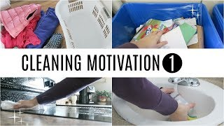 Cleaning Motivation 1 | Kids Bedrooms, Bathroom & Kitchen