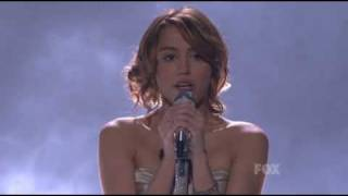 Miley Cyrus on American Idol - The Climb Performance - April 15th 2009 - HDTV