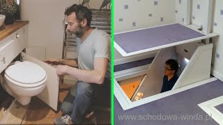 Amazing Space Saving Ideas And Home Designs -Smart Furniture