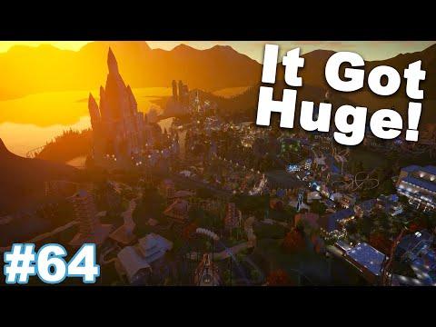 Let's Build the Ultimate Theme Park! - Planet Coaster - Part 64 (New Inspiration)